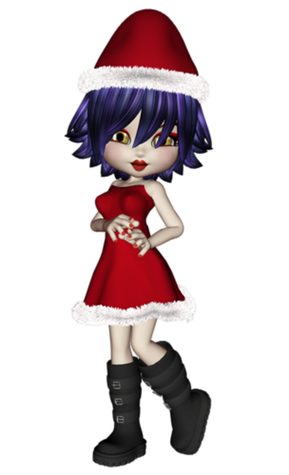 Cookies de Noël , petits personnages / 1