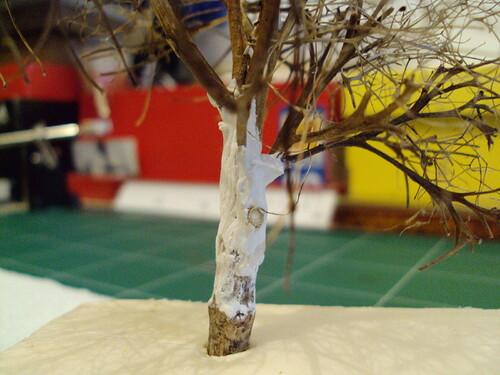 Des chênes