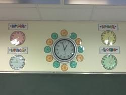 Affichages - Horloge / Horaires de la Journée
