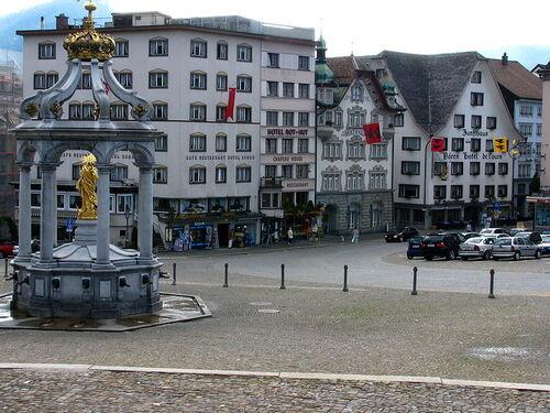 Einsiedeln en Suisse (photos)