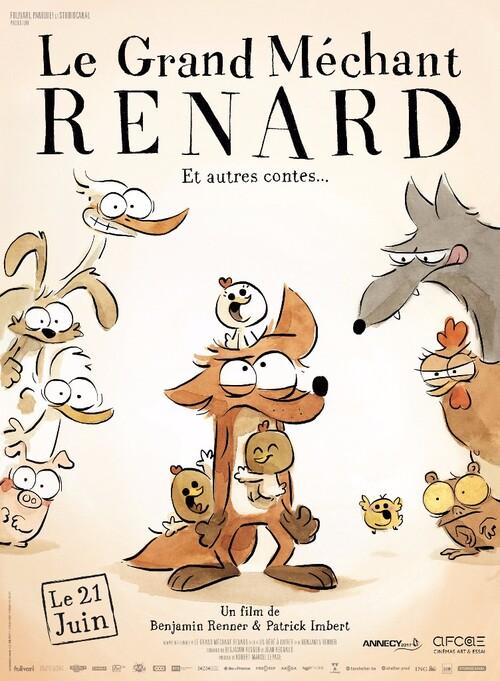 Découvrez la bande-annonce du GRAND MECHANT RENARD par le réalisateur d'Ernest et Célestine !