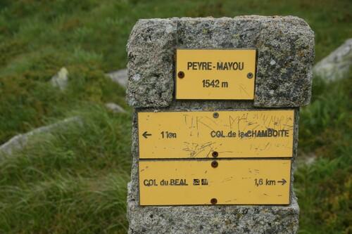 Randonnée..le Col du Béal..Peyre Mayou...17 kms