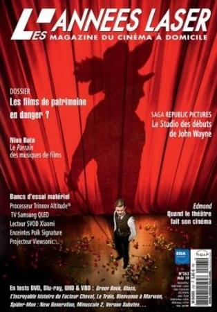 """Les Années Laser N° 263 avril 2019 """"Magazine Cinéma"""""""