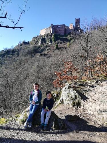 Rando aux châteaux de Ribeauvillé