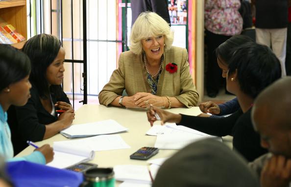 Camilla et les artistes