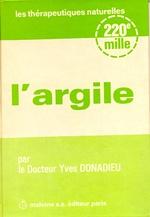 L'argile du Dr Yves Donadieu
