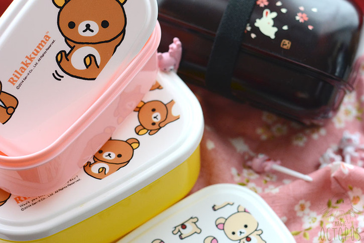 Bento&Co : Rilakkuma & des lapins mignons - Magic Octopus Blog