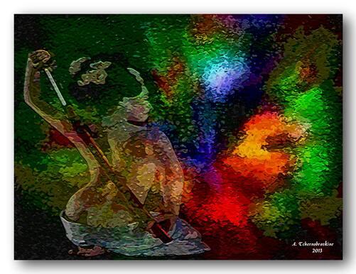L'ombre de la geisha