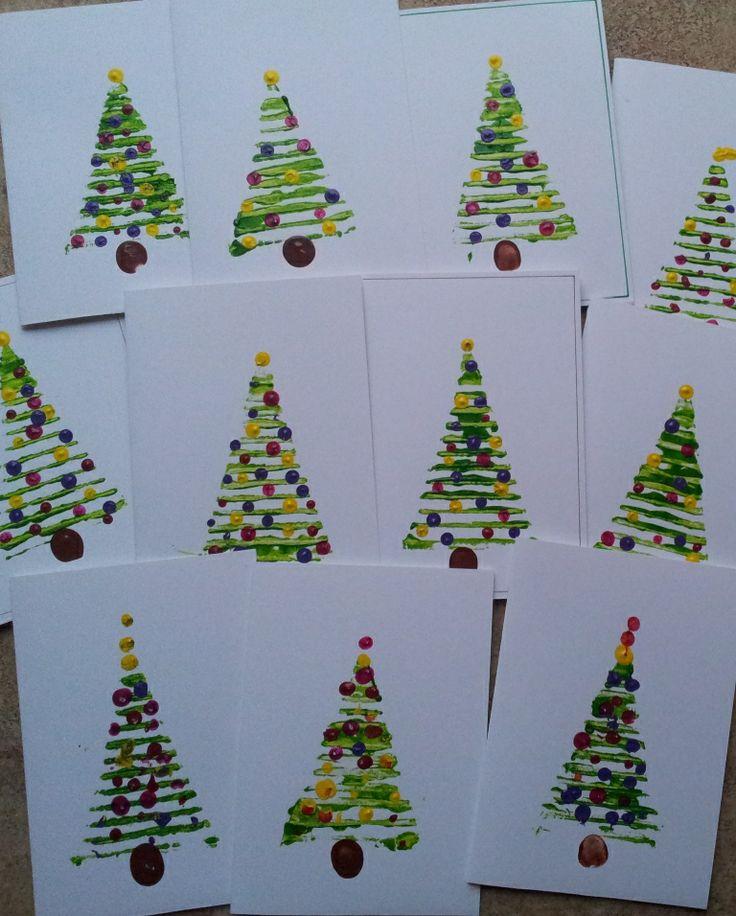 Sapin de Noël imprimes a partir d'un carton ondule  tuto