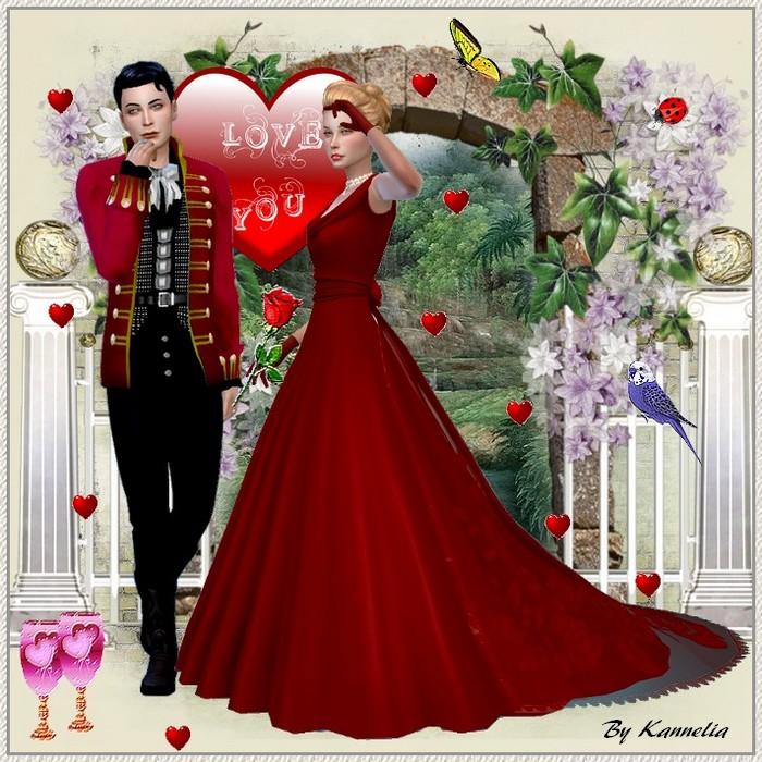 St Valentin Sims