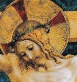 Le Christ en Croix...