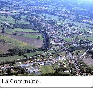 La commune de Saint Aigulin en Charente Maritime