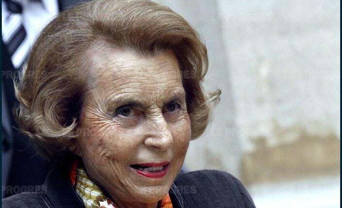 Liliane Bettencourt, 1ère au classement femmes et à la 14e place mondiale, 94 ans, pèse 39,5 milliards de dollars. Photo AFP