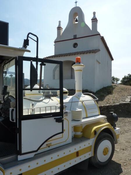 Banyuls - Petit train et Notre Dame de la Salette