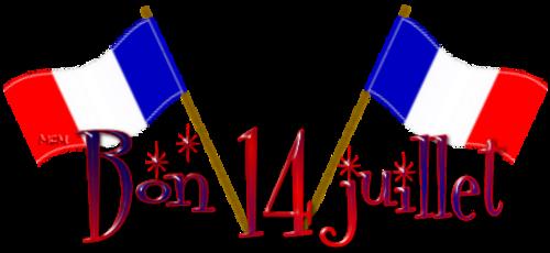 Bonne semaine bon 14 Juillet