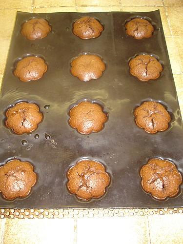 Petites charlottes au Chocolat et Lait concentré 6