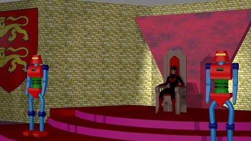 La salle du trône en format HD
