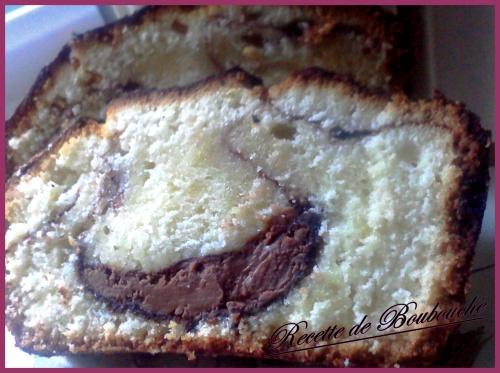 CAKE FOURRE AU NUTELLA DE MA BOUBOUCHE