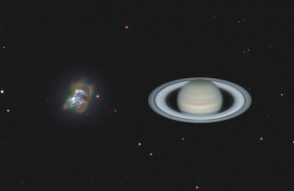 NGC 7027, version 2017