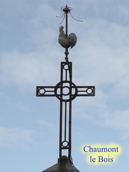 Coqs et croix de clochers dans le canton de Châtillon sur Seine