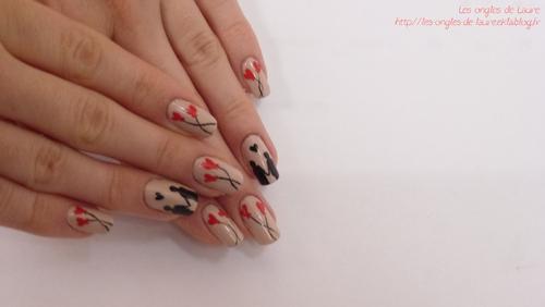 Nail Art St-Valentin 2014