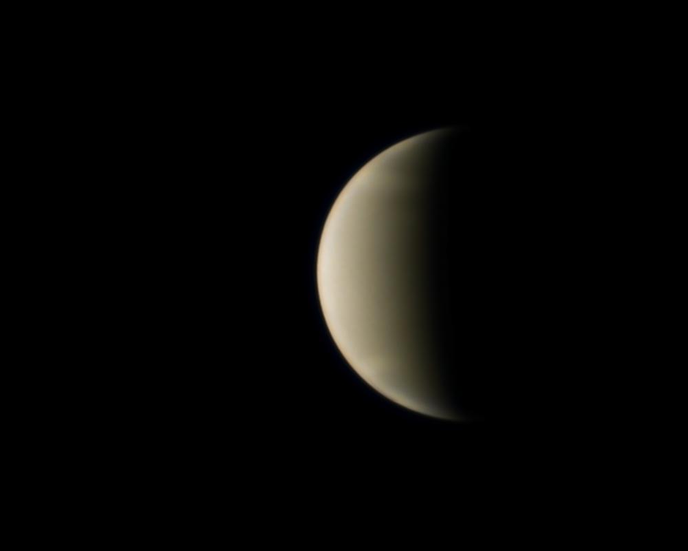 Venus le 10 octobre