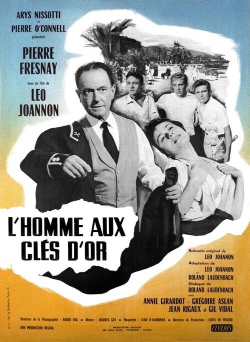 L' HOMME AU CLES D'OR - BOX OFFICE ANNIE GIRARDOT 1956