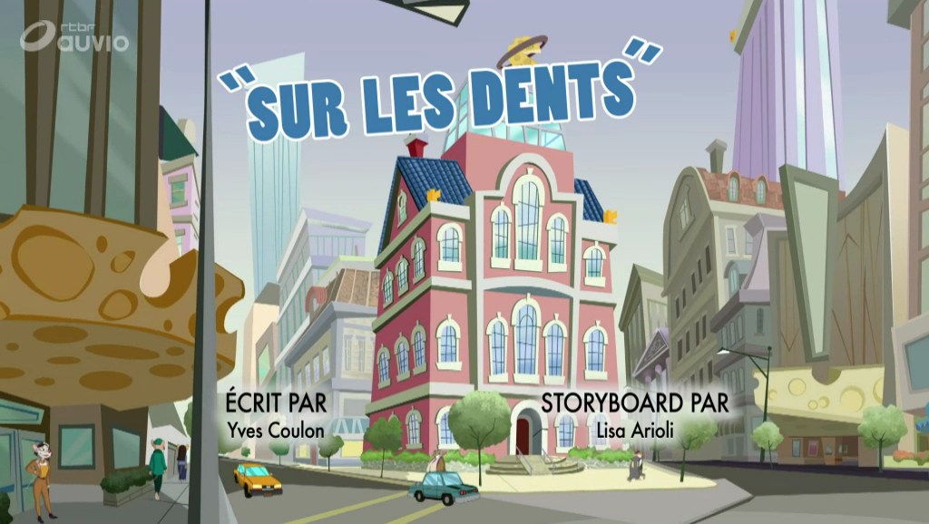 Geronimo Stilton - 3x19 - Sur les dents