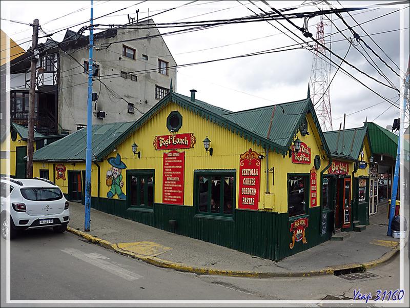 Bâtisse typique en tôles ondulées - Ushuaïa - Terre de Feu - Argentine