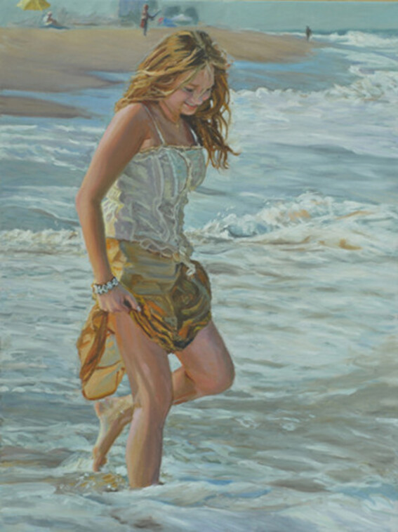 MARK ELIOT LOVETT, Peintre américain. ARTS