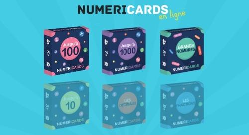 Numericards en ligne chez Orphys
