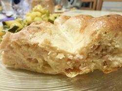 Quiche au thon et au fromage
