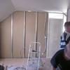 Pose du placo des cloisons de l\'étage (1)
