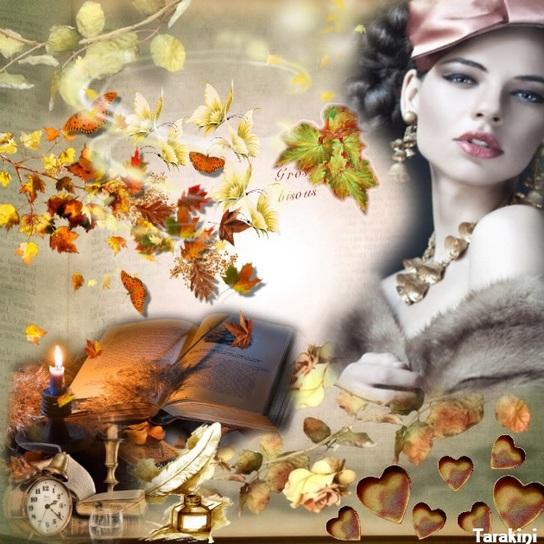 un souffle de feuilles de papillons ...