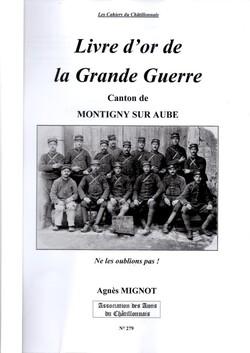 Cahier des Amis du Châtillonnais