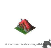 modèle villa - animal crossing DS