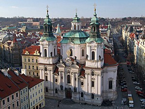 st nicholas church prague czech republic photo prague gov