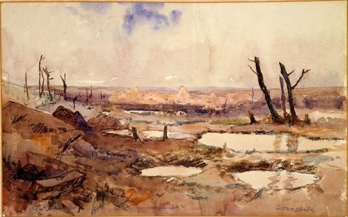 Joseph Le Razavet dans la boue des Flandres