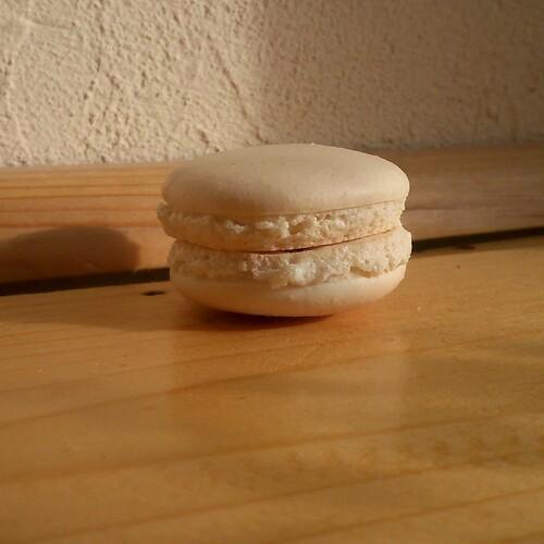 Macarons au caramel beurre salé (meringue italienne)