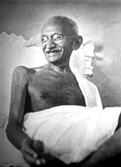 Né le 2 octobre 1869 , Mahatma Gandhi, Balance ascendant Balance