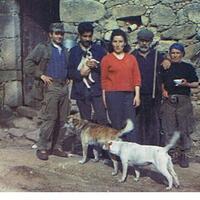 Antoine, Jean Jacques,Pauline tonton  Aurèle,tata Julie