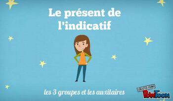 deuxième vidéo ! conjugaison : le présent de l'indicatif