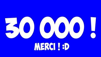 30 000 visites