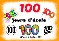 Les 100 jours d'école