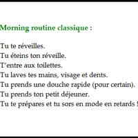Créer sa morning routine Linda Dazzl blog