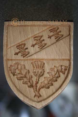 moule à Springerle artisanal en bois - Arts et sculpture: sculpteur sur bois