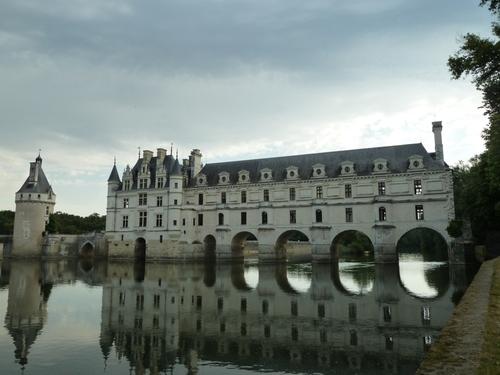 Azay-le-Rideau,Villandry et Chenonceau