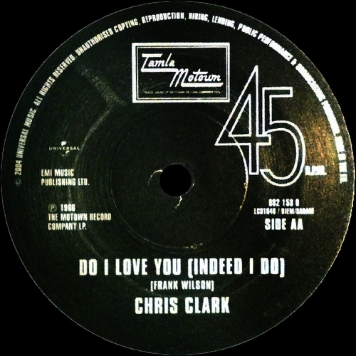 "Chris Clark : Album "" Soul Sounds "" Motown Records MS-664 [ US ]"