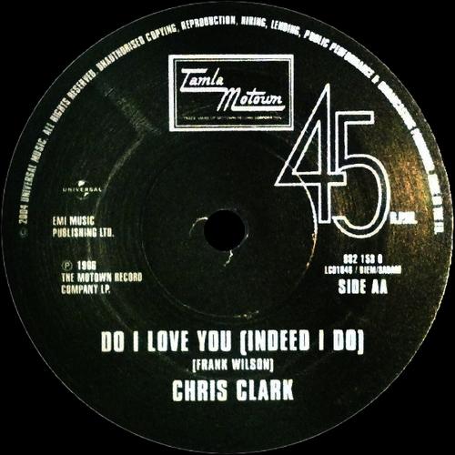 """Chris Clark : Album """" Soul Sounds """" Motown Records MS-664 [ US ]"""