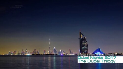 CAFÉ AMÉRICAINE - Dubai Night, Prod. no 82, 2014 by Piergi  (Chillout)